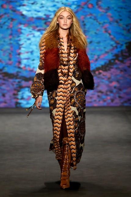 Anna Sui giacca con pelliccia