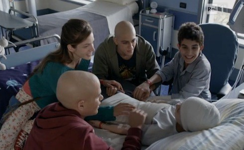 Una scena della prima stagione della fiction di Rai 1