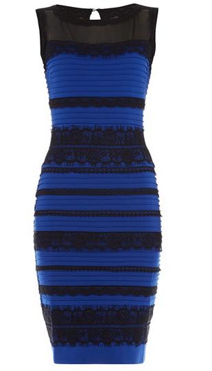 buy popular 3ae06 5a51a Dilemma: di che colore è questo vestito? | UnaDonna