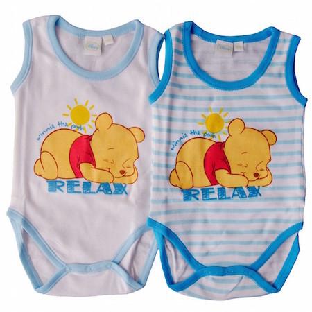 body estivi per neonato della Disney