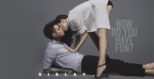 Sisley: campagna con Fedez e Giulia