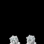 Damiani orecchini Minou in oro bianco e diamanti