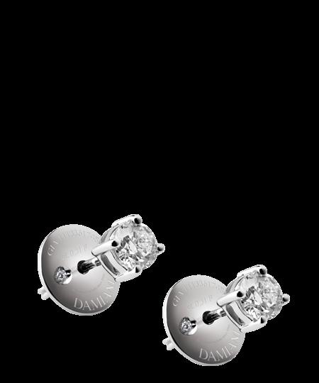 Damiani orecchini Luce con diamanti