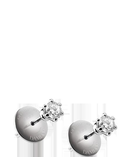 Damiani orecchini Elettra in oro bianco e diamanti