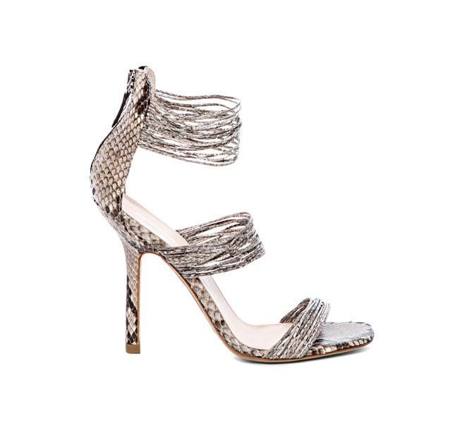 Sandalo in pitone
