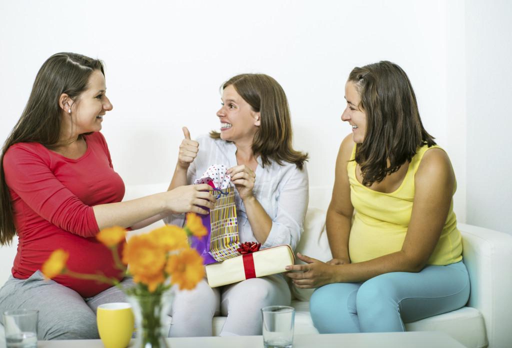 Invitate alla festa anche altre future mamme, magari conosciute proprio in occasione del corso preparto