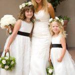 flower girls con la sposa