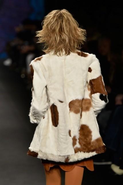 Anna Sui giacca in cavallino