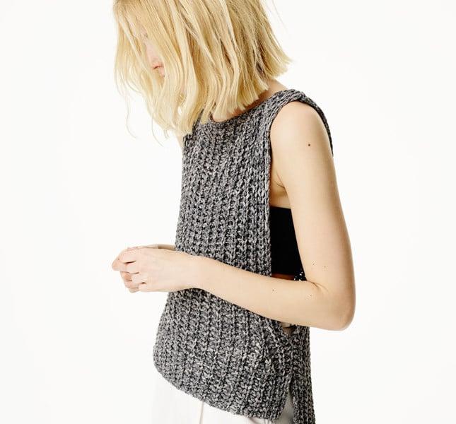Gilet in maglia Zara
