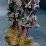 Gucci pantofole fur
