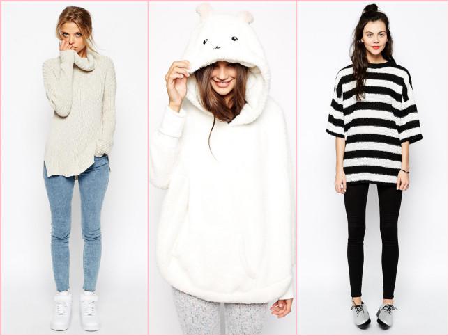 Felpa, leggings, maxi maglia sono capi comodi e pratici da indossare in casa