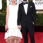 Amelia Warner e Jamie Dornan alla 72esima edizione dei Golden Globes
