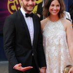 Jamie Dornan e la moglie Amelia Warner a Londra
