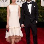 Jamie Dornan ai Golden Globes