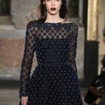 Luisa Beccaria long dress con basco