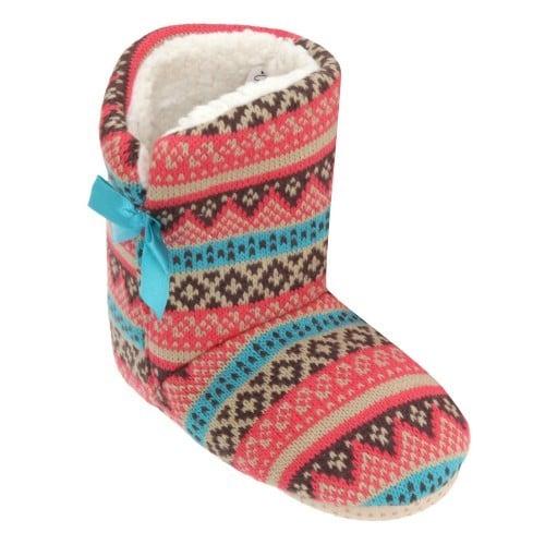 Pantofole a stivaletto calde e comode