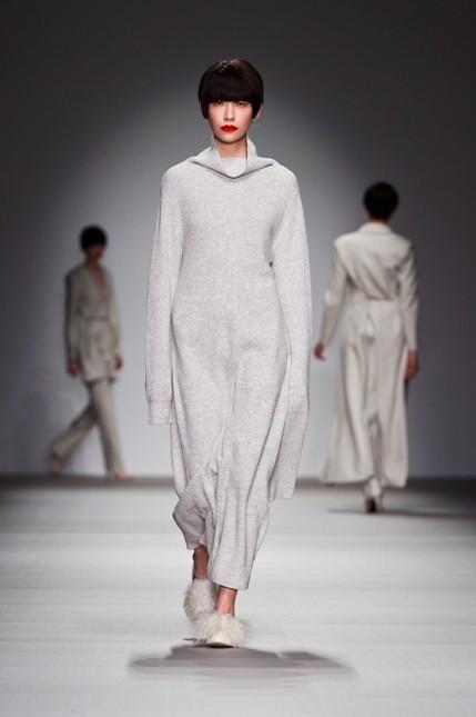 J.JS. Lee maglione bianco oversize