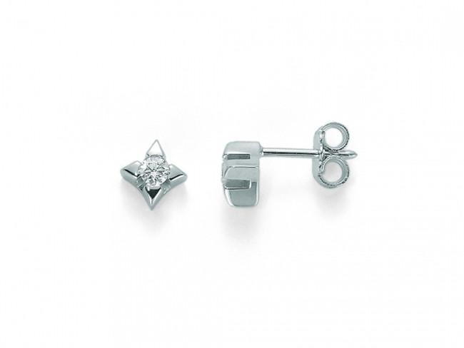 Miluna orecchini in oro 750/1000 e diamanti
