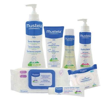 set per la pulizia e l'igiene del neonato Mustela