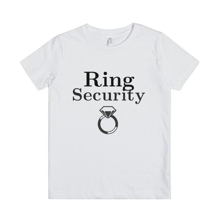 simpatica maglietta da regalare al paggetto che consegna le fedi