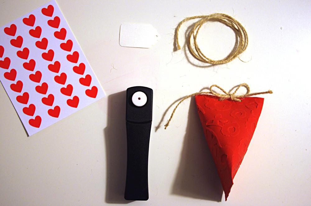 tutorial scatolina fai da te per San Valentino