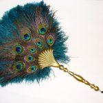 ventaglio occhi di pavone
