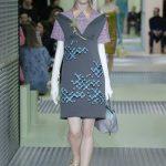 Prada mini dress con camicia