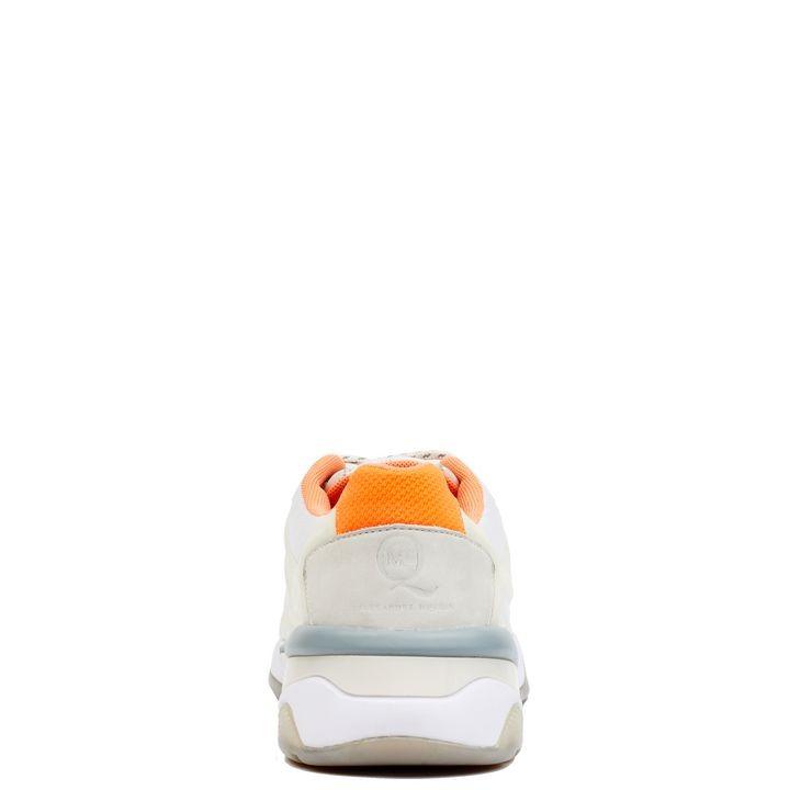 Dettaglio del tallone delle McQ Run Low Sneakers
