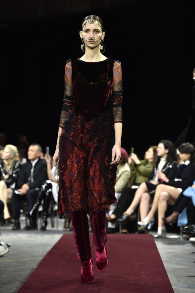 Rosso rubino per Givenchy