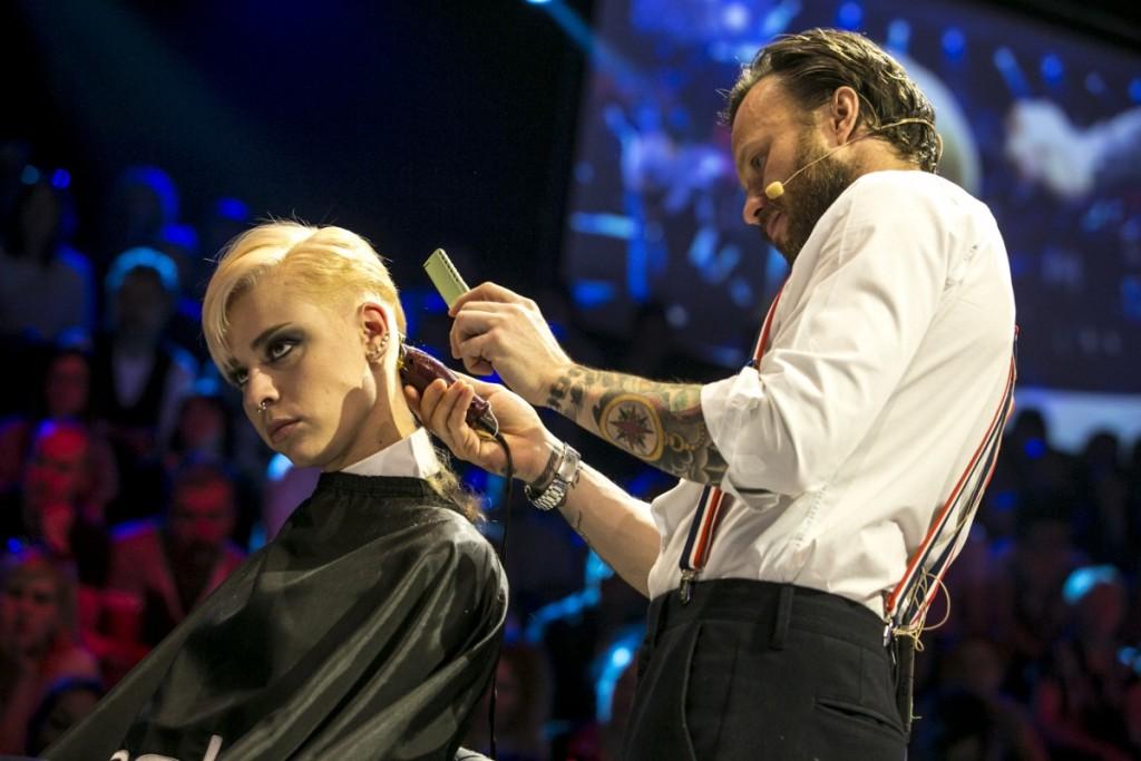 I grandi del mondo hairstyle in scena a Cosmoprof