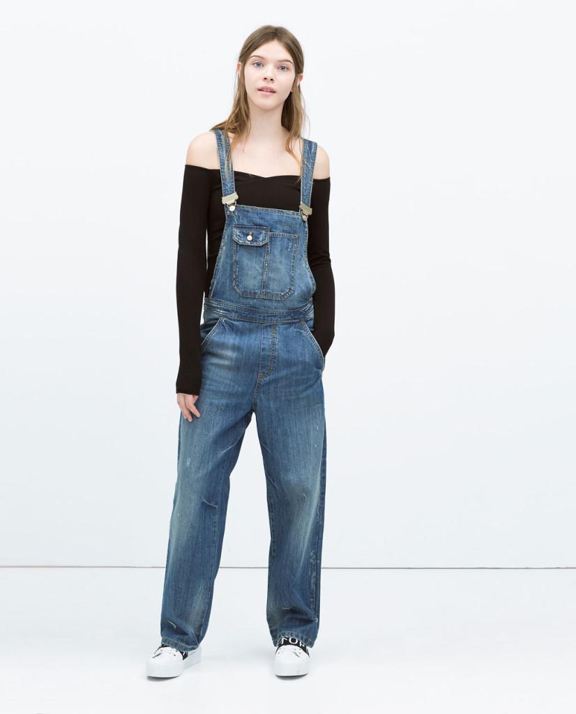Tuta in jeans