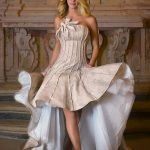 abito sposa lino