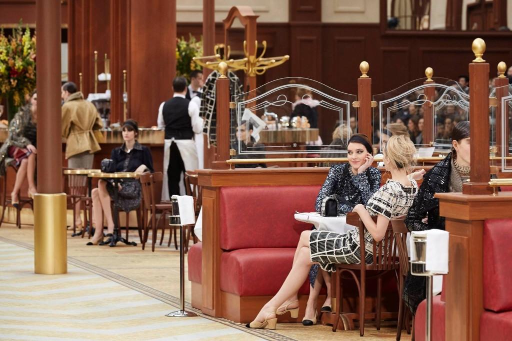Colazione da Chanel alla PFW