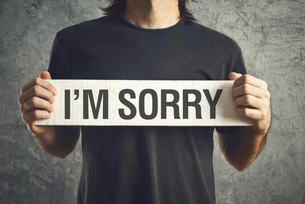 come scusarsi