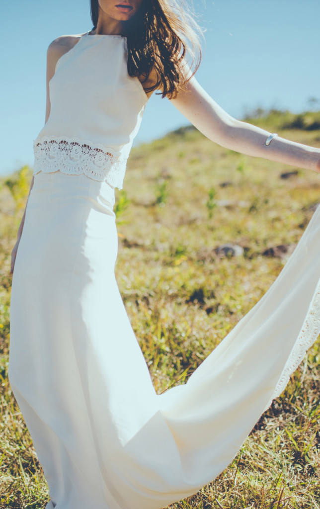 Brand statunitense  di abiti da sposa Daughters-of-Simone
