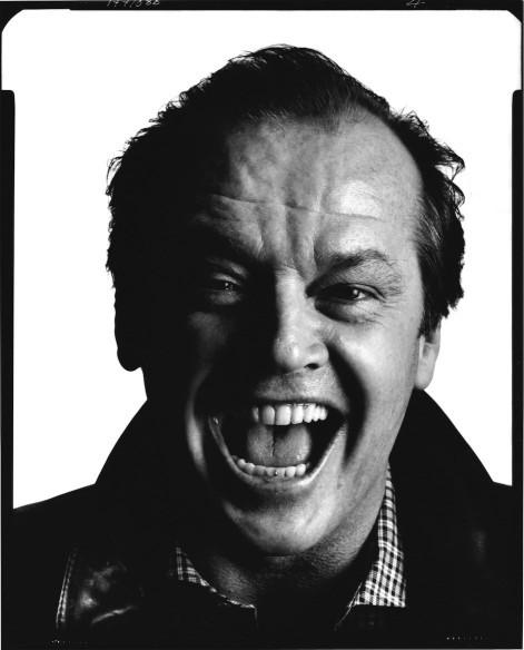 Ritratto di Jack Nicholson. David Bailey mostra Stardust.