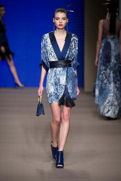 Fascia in vita con nappine per il vestito stile kimono