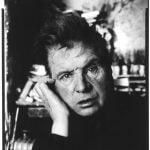 Francis Bacon foto di David Bailey