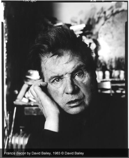 Ritratto di Francis Bacon. David Bailey, mostra Stardust.