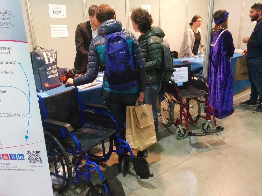 Un'insolita Milano con un percorso esclusivo per portatori di handicap