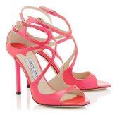 Colore rosa acceso per Jimmy Choo sposa 2015