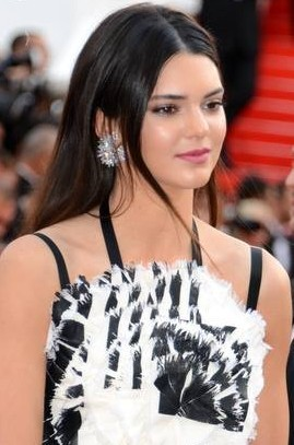 Kendall Jenner sul red carpet a Cannes