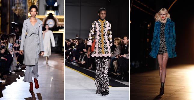 Il settimo giorno della Paris Fashion Week è all'insegna della mescolanza di maschile e femminile e di uno stile sofisticato