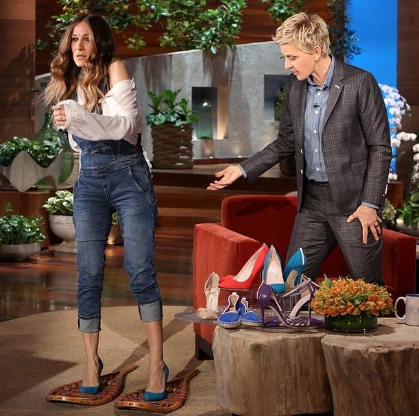 Sarah Jessica Parker all'Ellen DeGeneres Show