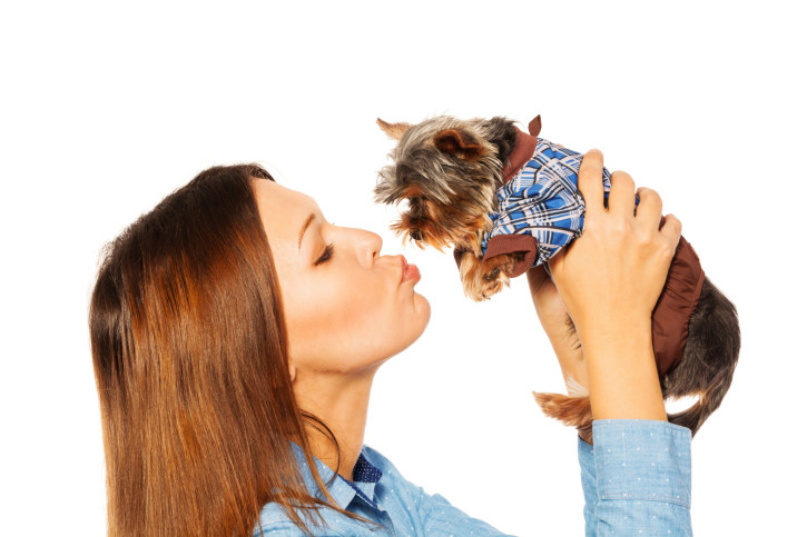 bacio cane