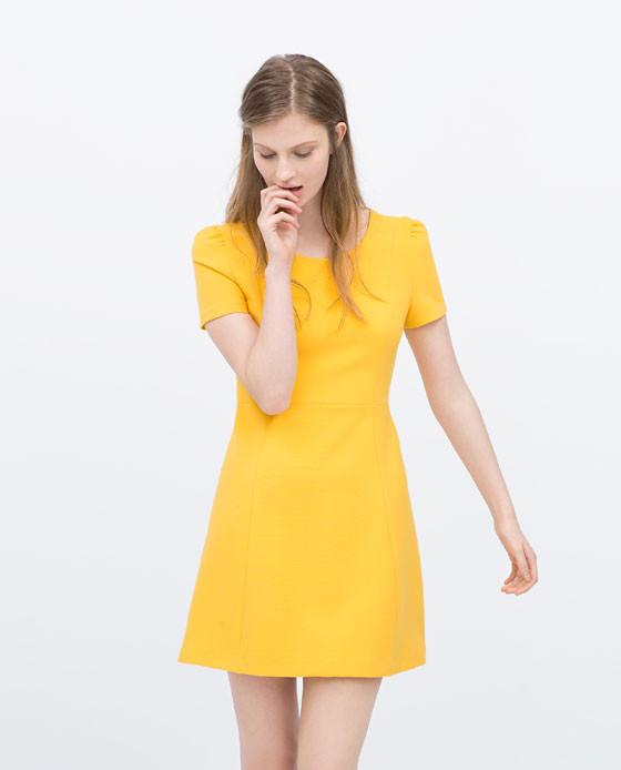 Vestito scollo a V Zara 29,95 euro