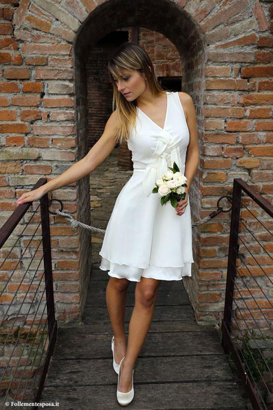 Abito sposa eco sostenibile di Atelier Follemente Sposa