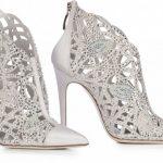 scarpe sposa argento Loriblu