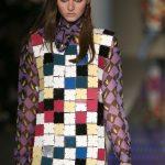 Au Jour Le Jour mini dress a scacchi colorati