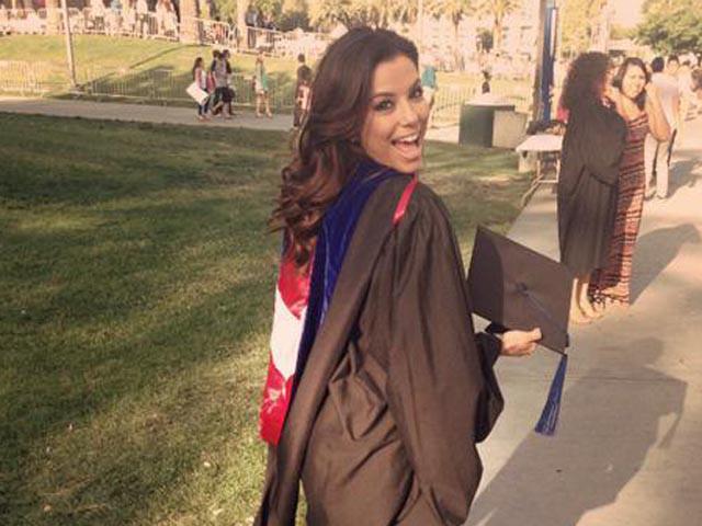 Eva Longoria si laurea sui Chicanos